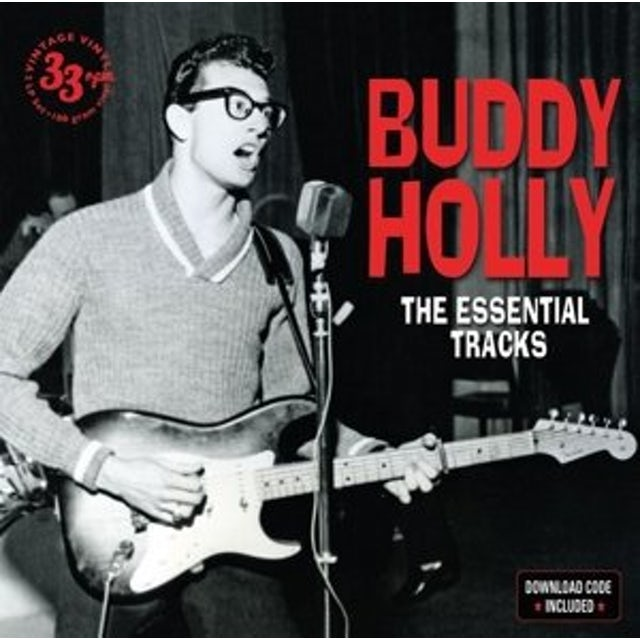 Buddy Holly ESSENTIAL TRACKS Vinyl Record