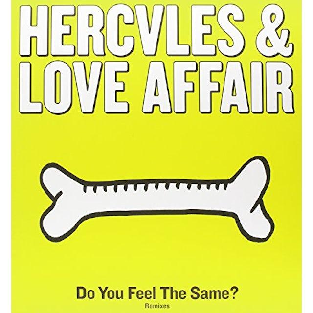 Hercules & Love Affair DO YOU FEEL THE SAME? Vinyl Record