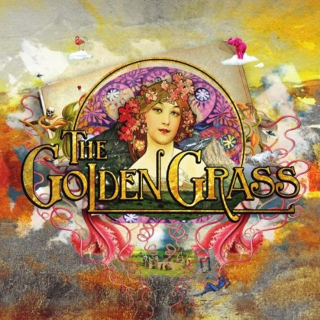 Golden Grass Vinyl Record