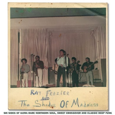 Ray Frazier & The Shades Of Madness Vinyl Record - UK Release