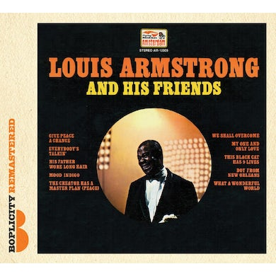 Louis Armstrong AND HIS FRIENDS CD