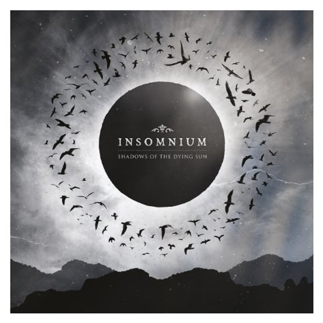 Insomnium SHADOWS OF THE DYING SUN Vinyl Record - UK Release