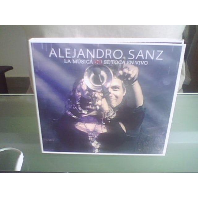 Alejandro Sanz LA MSICA NO SE TOCA EN VIVO CD
