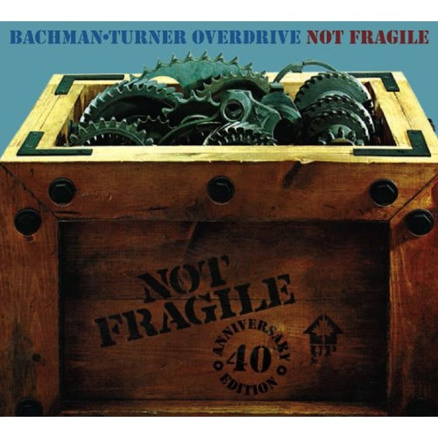 Bto ( Bachman-Turner Overdrive ) NOT FRAGILE (40TH ANN DLX VINYL) Vinyl Record