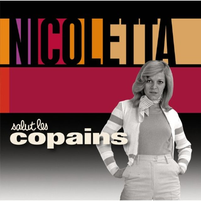 Nicoletta SALUT LES COPAINS CD