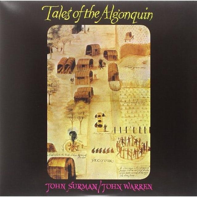 John/Warren John Surman TALES OF THE ALGONQUIN Vinyl Record