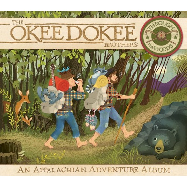 Okee Dokee Brothers THROUGH THE WOODS CD