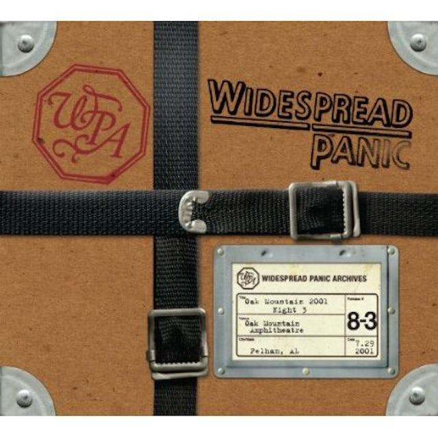 Widespread Panic OAK MOUNTAIN 2001 - NIGHT 3 CD