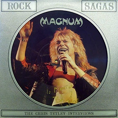 Magnum 80'S INTERVIEW PICTURE DISC Vinyl Record