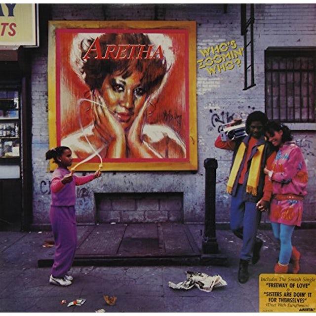 Aretha Franklin WHO'S ZOOMIN WHO Vinyl Record