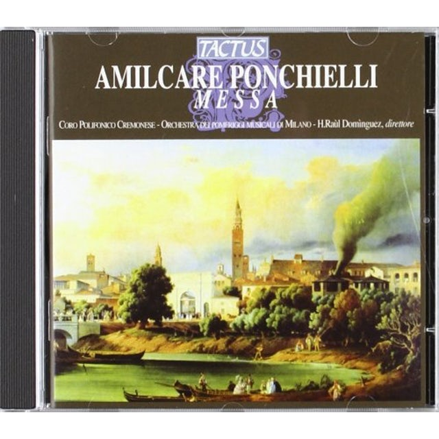 Ponchielli MESSA CD