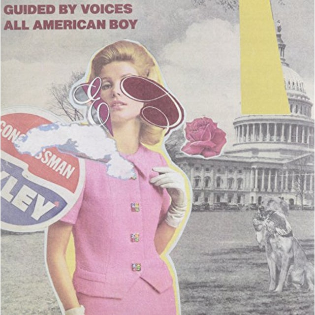 Guided By Voices ALL AMERICAN BOY / EYESORE WIVES Vinyl Record