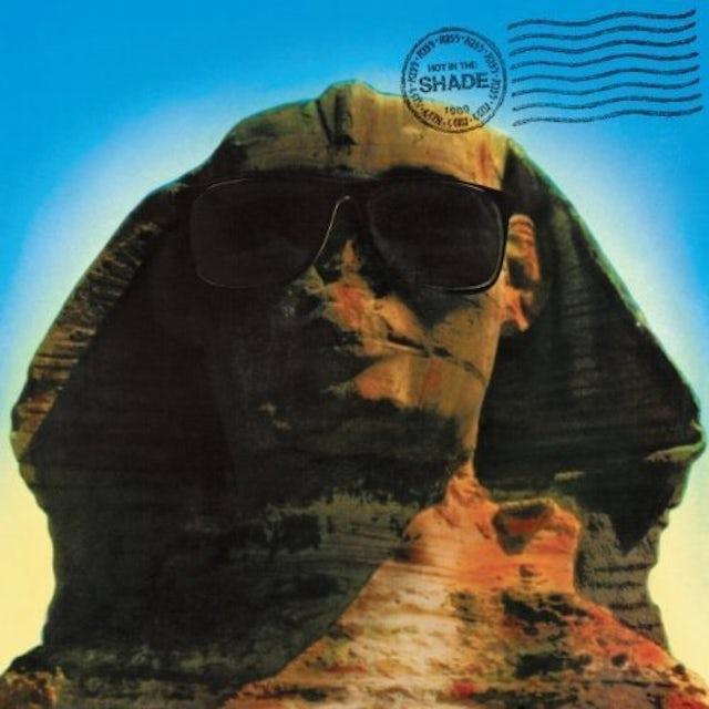 Kiss HOT IN THE SHADE Vinyl Record