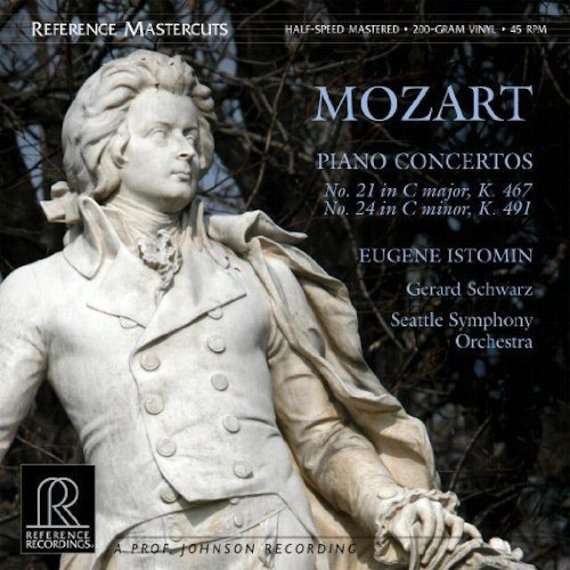 Mozart PIANO CONCERTOS 21 & 24 Vinyl Record