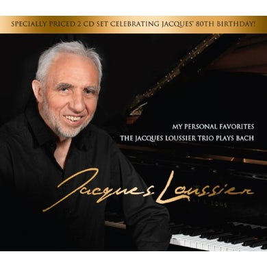 MY PERSONAL FAVORITES: JACQUES LOUSSIER PLAYS BACH CD