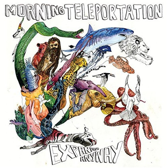 Morning Teleportation EXPANDING AWAY Vinyl Record