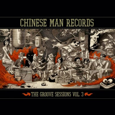 Chinese Man GROOVE SESSIONS 3 CD