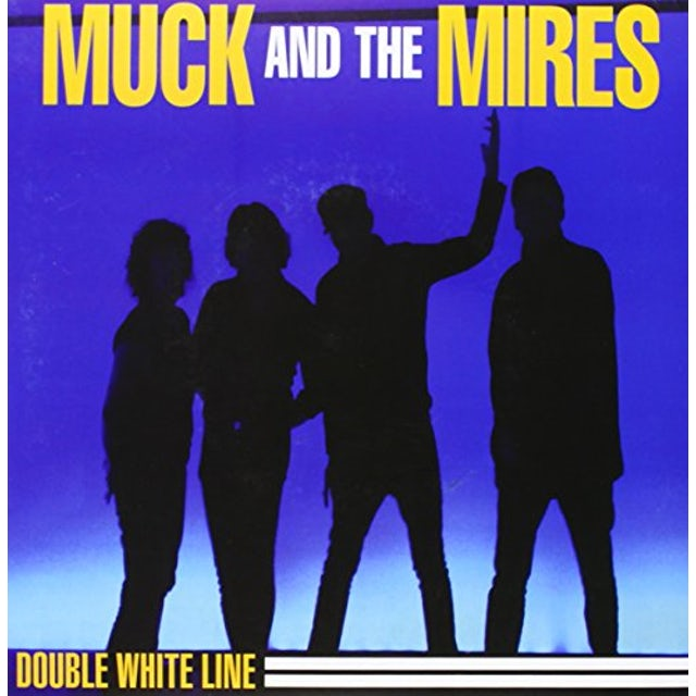 Muck & The Mires DOUBLE WHITE LINE Vinyl Record