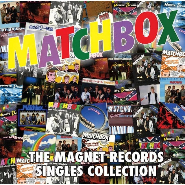 Matchbox MAGNET RECORDS SINGLES COLLECTION CD