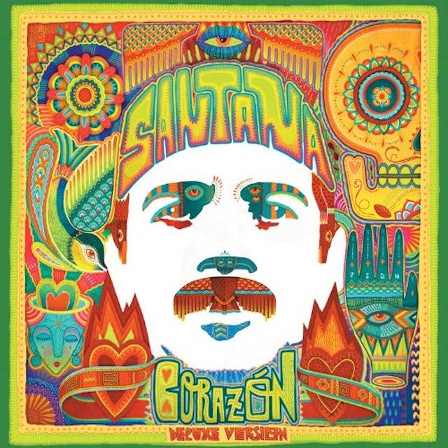Santana CORAZN (DELUXE VERSION) CD