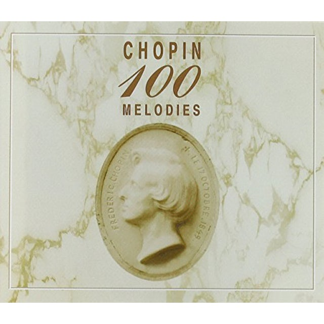 100 WORKS BY CHOPIN CD
