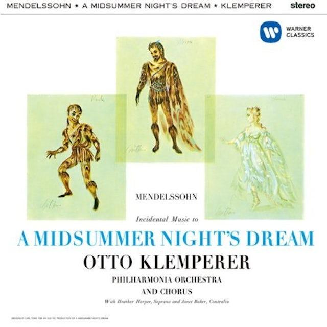 Otto Klemperer MENDELSSOHN: A MIDSUMMER NIGHT'S DREAM CD