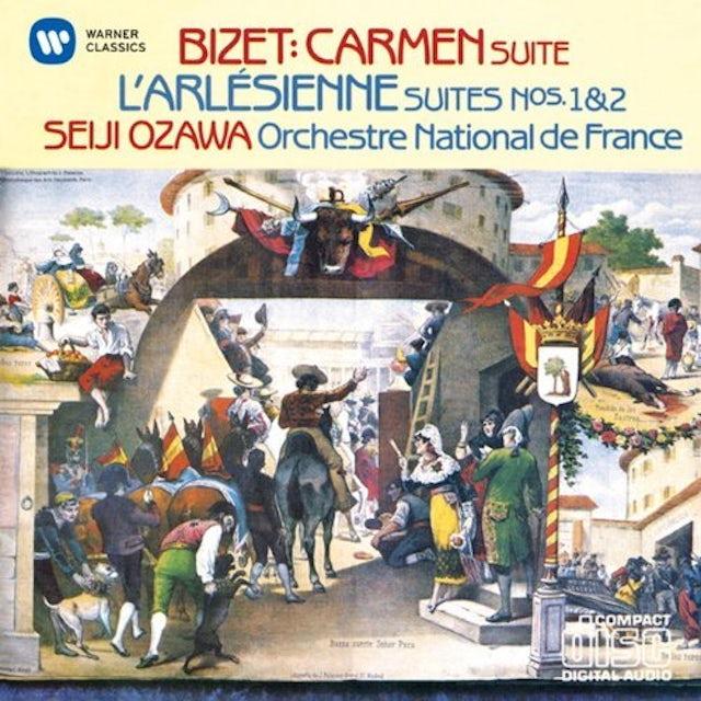 Seiji Ozawa BIZET: L'ARLESIENNE SUITES CD