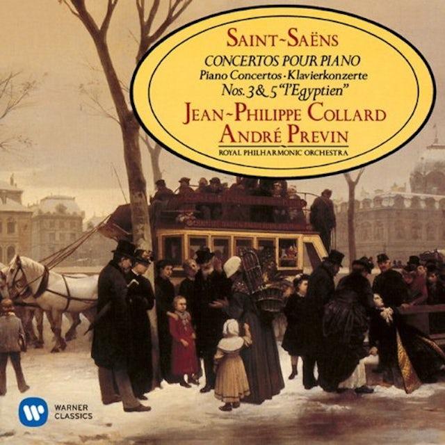 Jean-Philippe Collard SAINT-SAENS: PIANO CONCERTOS NO.3 & 5 CD