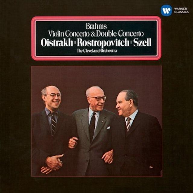 David Oistrakh BRAHMS: VIOLIN CONCERTO & DOUBLE CON CD