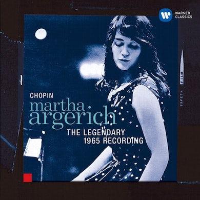 Martha Argerich LEGENDARY 1965 RECORDING CD