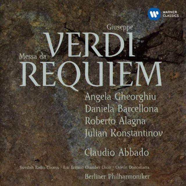 Claudio Abbado VERDI: MESSA DA REQUIEM CD