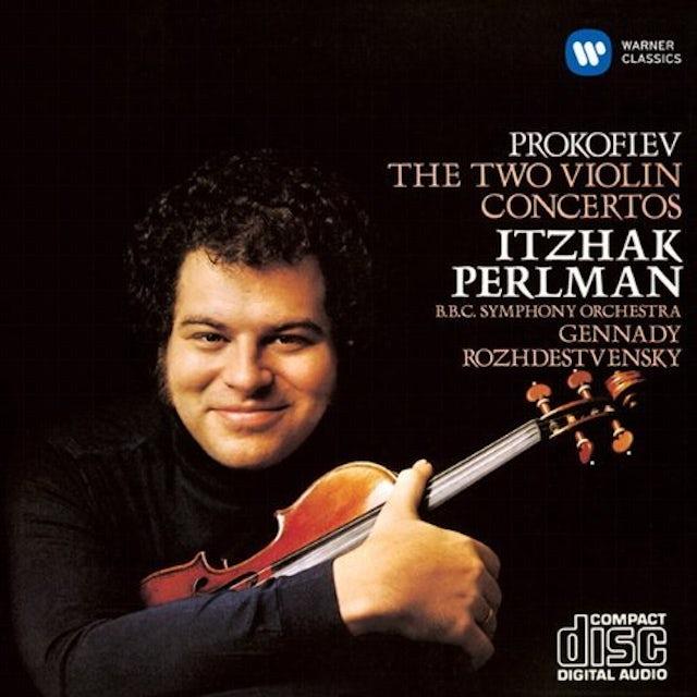 Itzhak Perlman PROKOFIEV: VIOLIN CONCERTOS CD