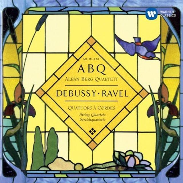 Alban Berg Quartett DEBUSSY & RAVEL: STRING QUARTETS CD