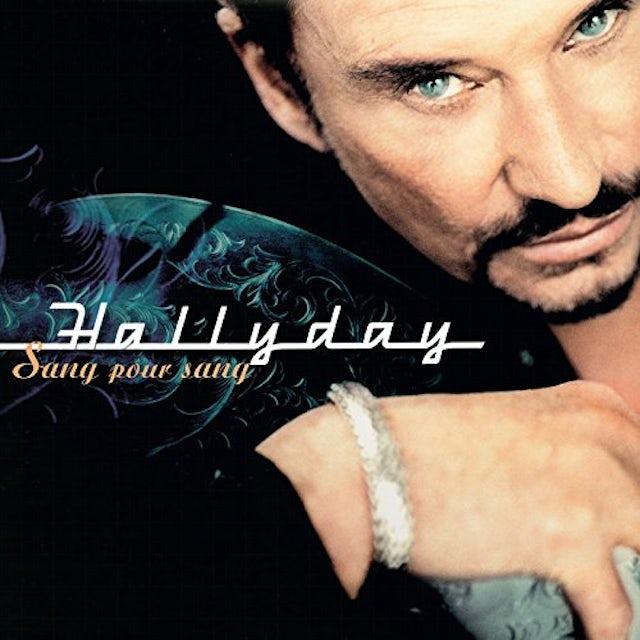 Johnny Hallyday SANG POUR SANG Vinyl Record