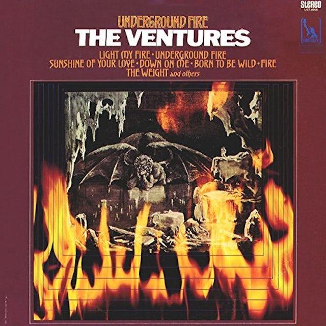 Ventures UNDERGROUND FIRE CD
