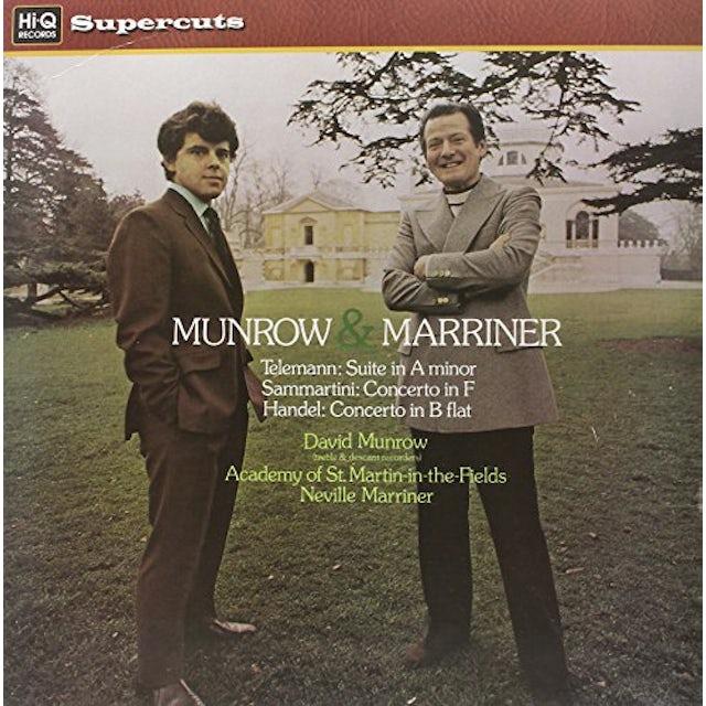 David Munrow MUNROW & MARRINER Vinyl Record
