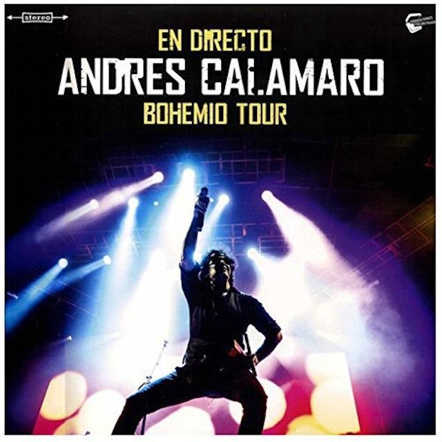 Andres Calamaro EN DIRECTO-BOHEMIO TOUR-VINILO 10 Vinyl Record