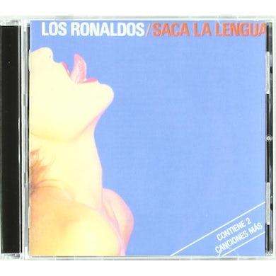 Los Ronaldos SACA LA LENGUA CD