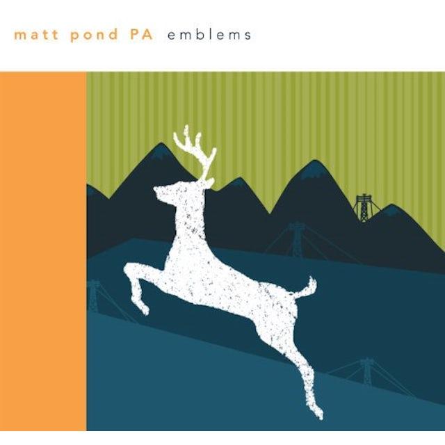 Matt Pond PA EMBLEMS Vinyl Record
