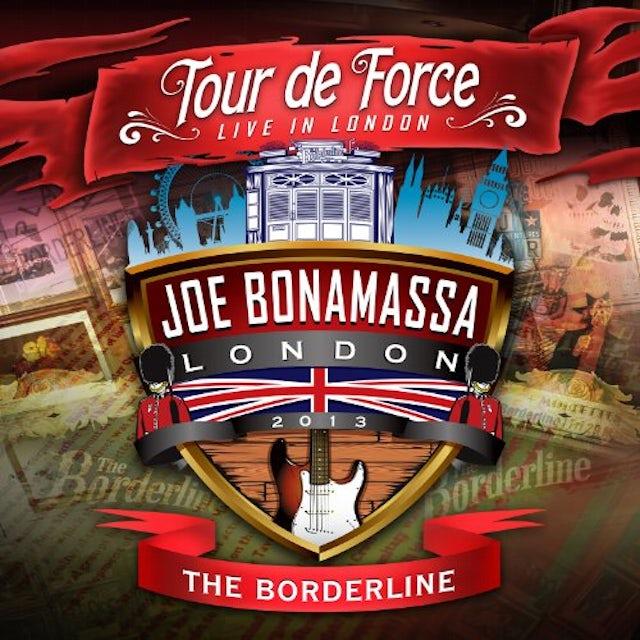 Joe Bonamassa TOUR DE FORCE-BORDERLINE CD