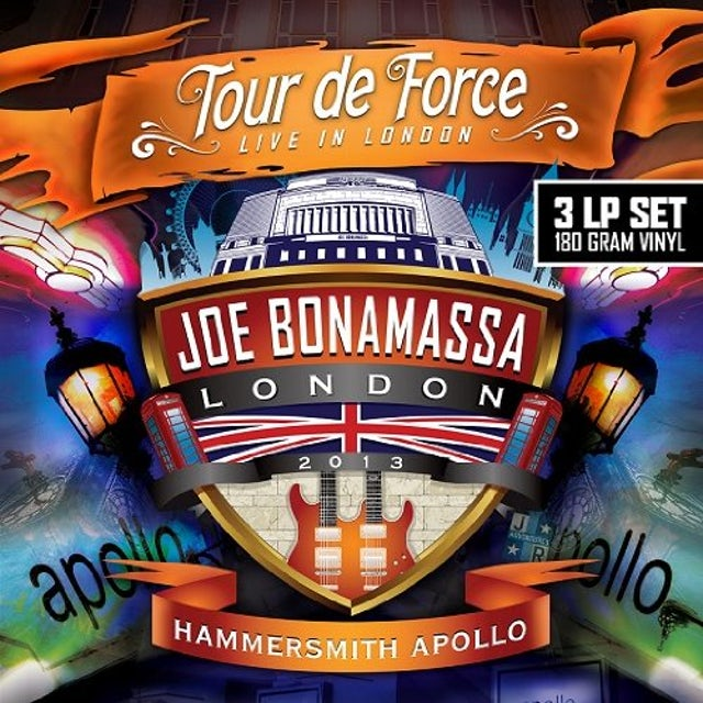 Joe Bonamassa TOUR DE FORCE-HAMMERSMITH APOLLO Vinyl Record