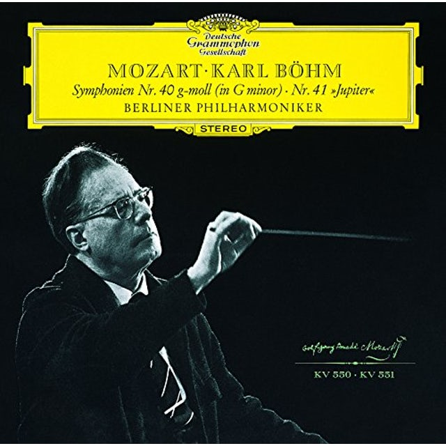 Karl Bohm MOZART: SYMPHONY NO.40 & NO.41 CD