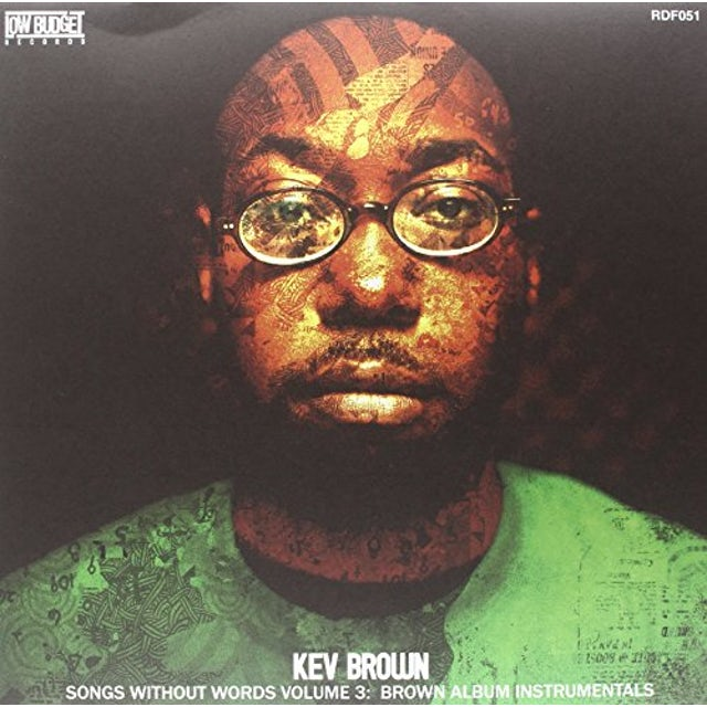 Kev Brown SONGS WITHOUT WORDS 3: BROWN ALBUM INSTRUMENTALS Vinyl Record