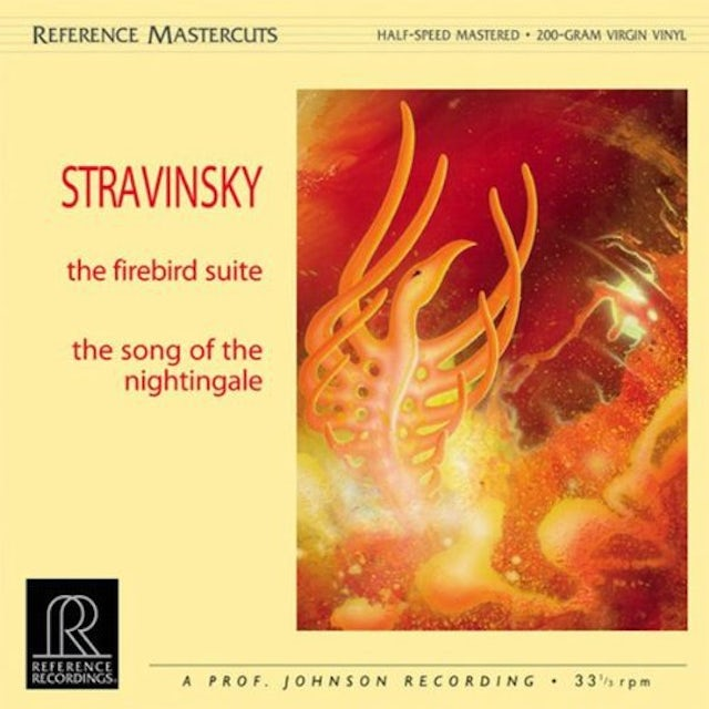 Stravinsky FIREBIRD SUITE/SONG OF THE NIGHTINGALE Vinyl Record
