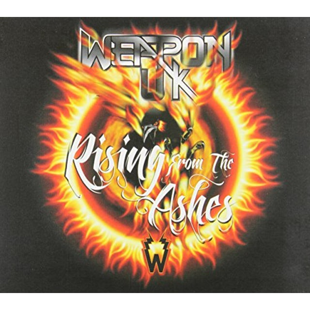 Weapon Uk RISING FROM THE ASHES CD