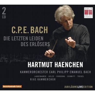 C.P.E. Bach LETZTEN LEIDEN DES ERLESERS CD