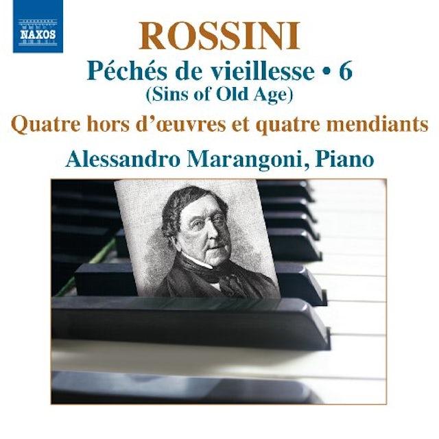 Rossini COMP PIANO MUSIC VOL 6 CD