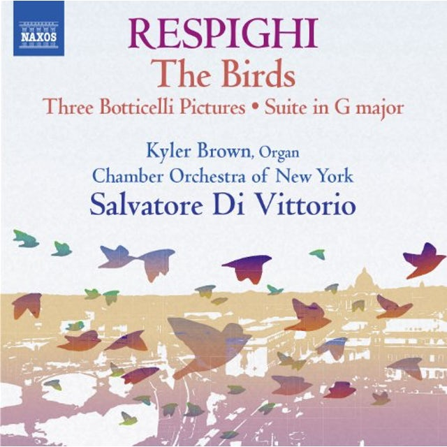 Respighi CHAMBER WORKS CD