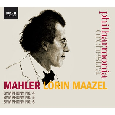 Gustav Mahler SYMS 4-6 CD