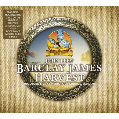 Barclay James Harvest LIVE AT METROPOLIS STUDIO Vinyl Record